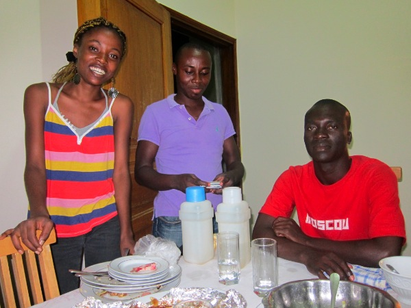 Couchsurfing with great hosts in Abidjan, Cote D'Ivoire